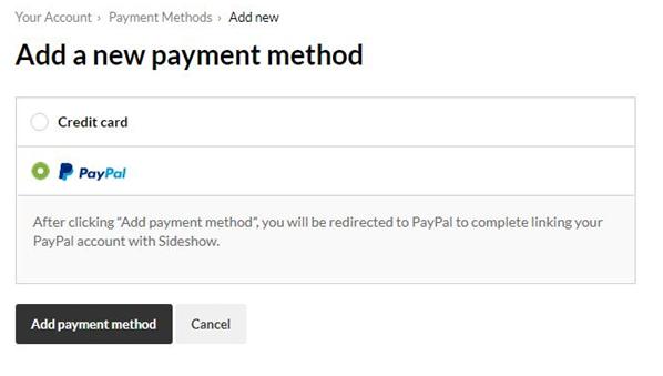 Managing Payment Methods – Help Center
